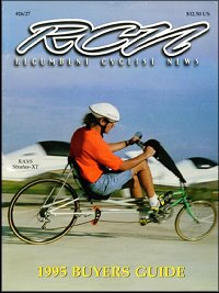 Recumbent Cyclist News PDF Archive
